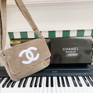 Chanel precision makeup crossbody messenger bag